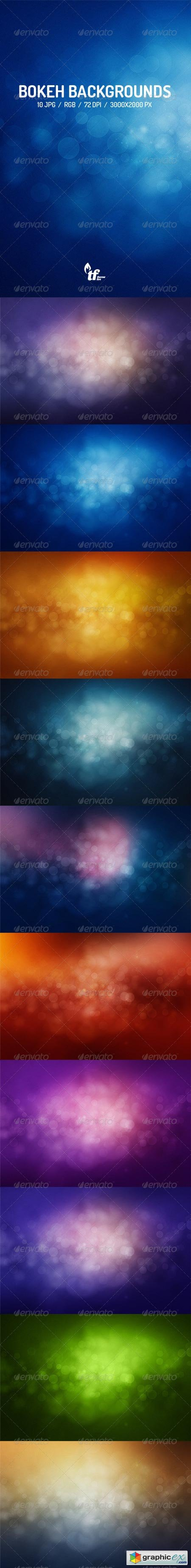 Abstract Bokeh Backgrounds 7691639