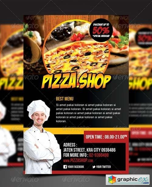 Pizza Shop Flyer