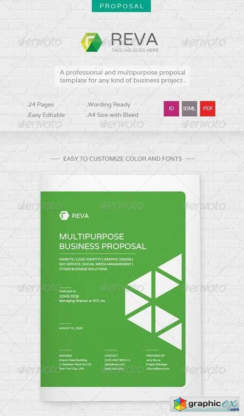 Reva - Multi Purpose Proposal Template