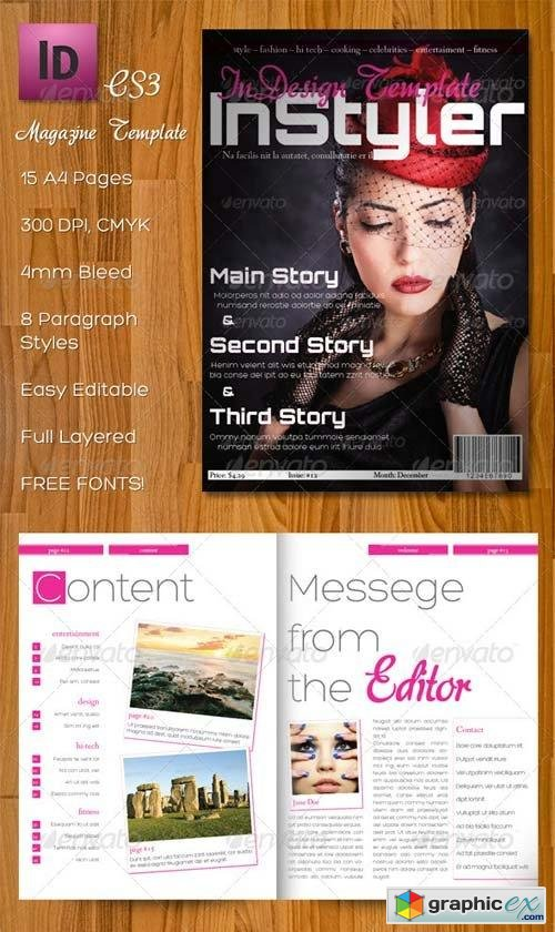InStyler - InDesign A4 Magazine