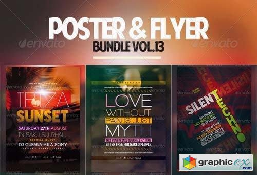 Poster & Flyer Bundle Vol.13