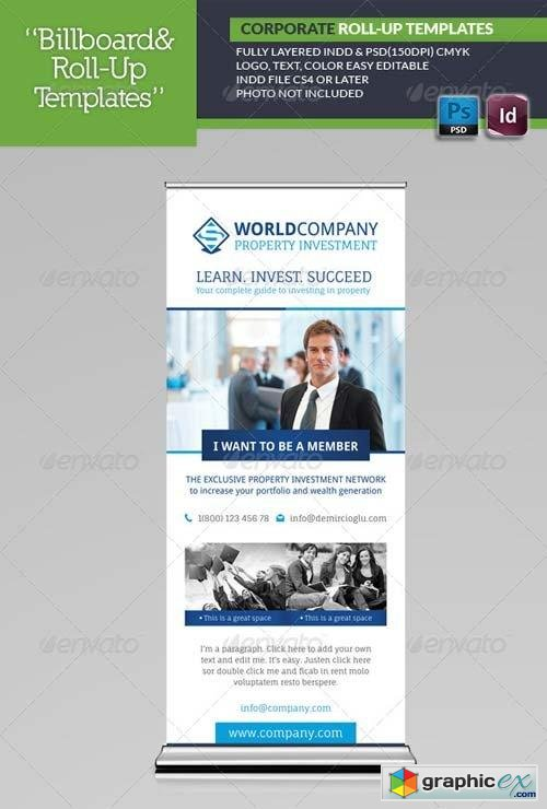 Corporate Roll-Up Templates