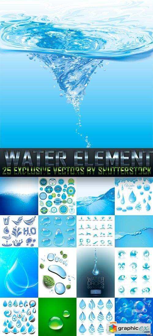 Water Element 25xEPS