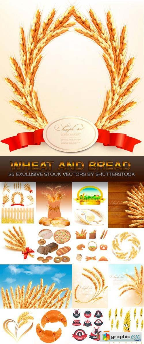 Wheat and Bread 25xEPS