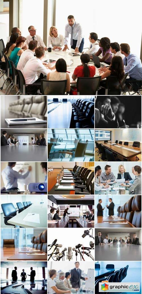 Business concept or boardroom interior stock images 25xJPG