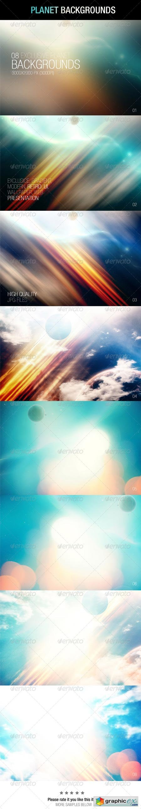 Planet Backgrounds 6884936