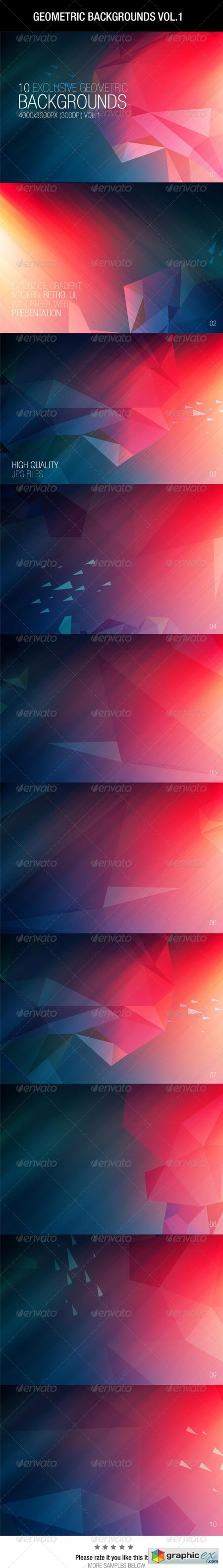 Geometric Backgrounds Vol.1 6642425