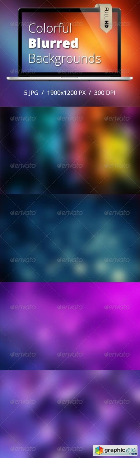 Coloful Blurred HD Backgrounds 6913407