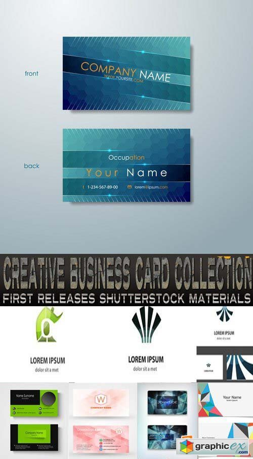 Amazing SS - Creative Business Card Collection, 25xEPS