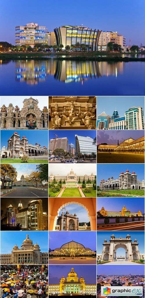 Bangalore City India stock images 25xJPG