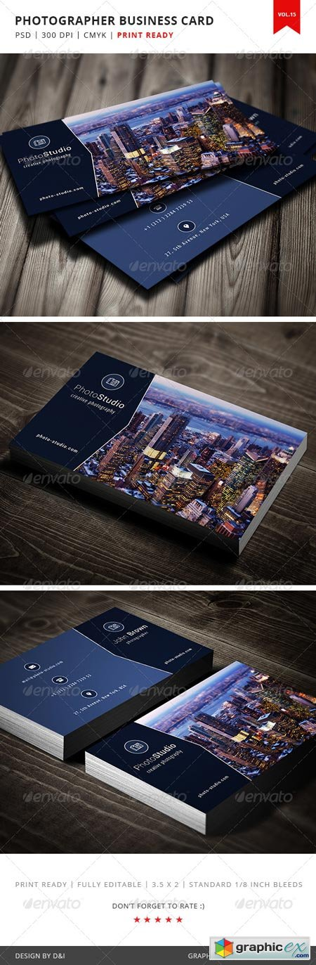 Photographer Business Card - Vol.15 5181155