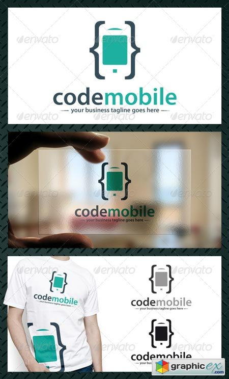 Phone Code Logo Template 4373898