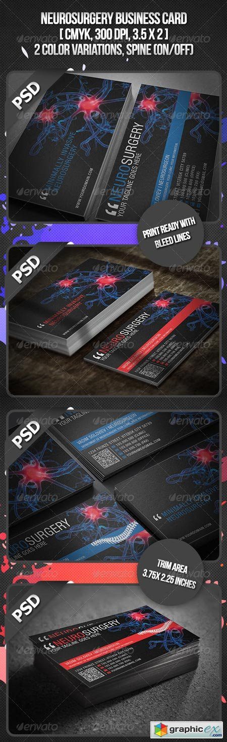 Neurosurgery Business Card 3498390