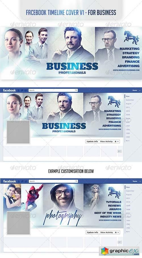 Facebook Timeline Cover v1- For Business