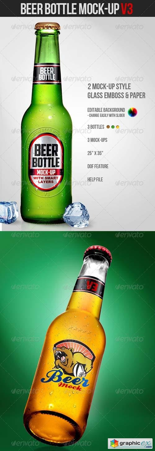 Beer Bottle Mock-Up V3