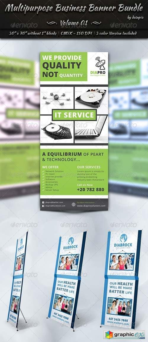Multipurpose Business Banner Bundle | Volume 1