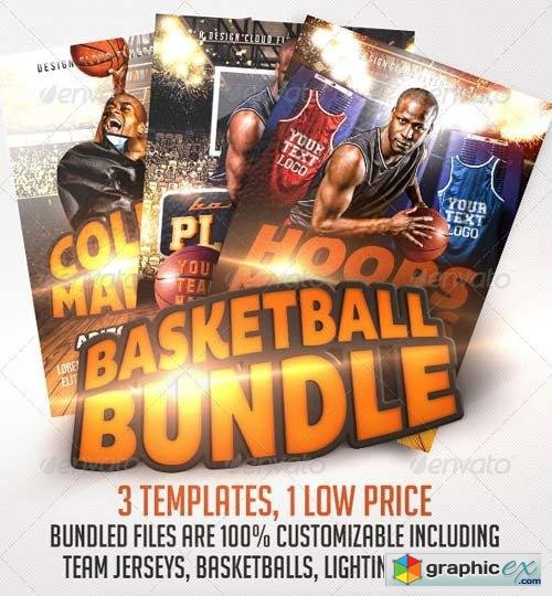 Basketball Flyer Bundle