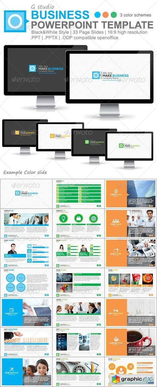 Gstudio Business Powerpoint Template