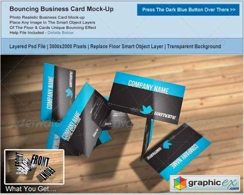 Business Card Mockup 3669469