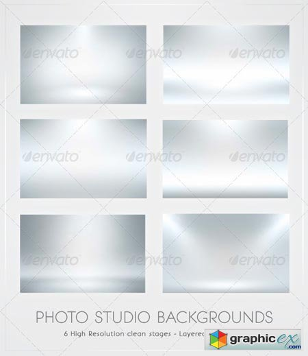 Infinite White Floor Spotlight Backgrounds 195944