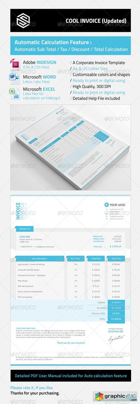 Cool Invoices 3349990