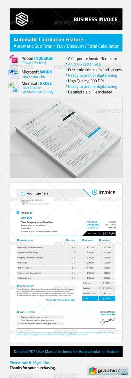 Business Invoice 5483088