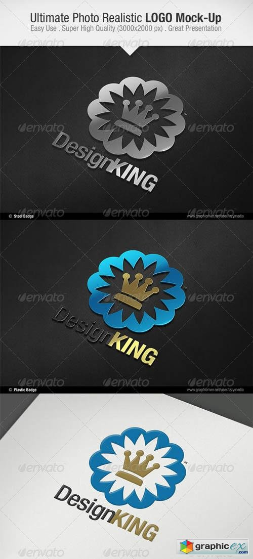 Ultimate Photo Realistic LOGO Mock-Up