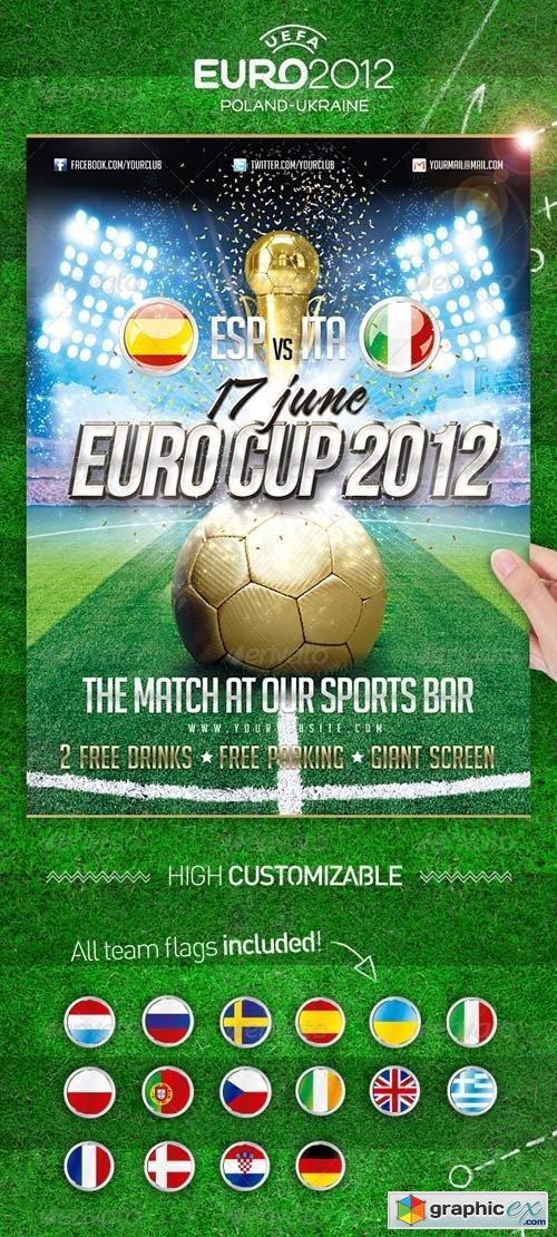 Euro Soccer Cup 2012 Flyer