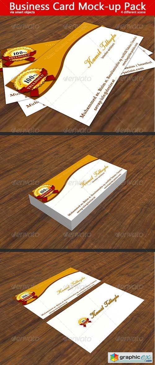 Business Card Mock-Up 5042392