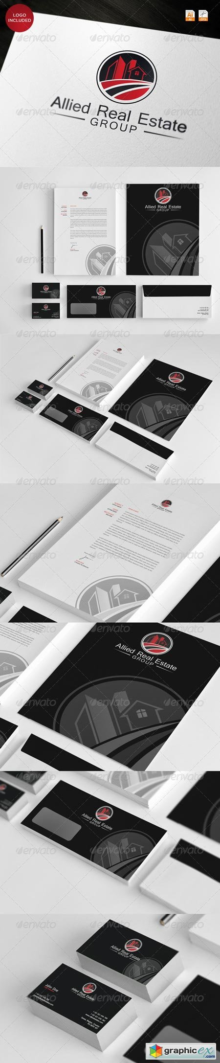 Corporate Identity - Allied Real Estate 3668088
