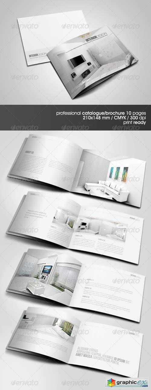 Clean & Modern A5 Catalogue