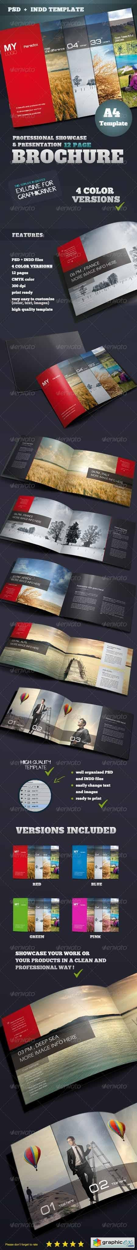 Portfolio & Showcase Brochure 3408227