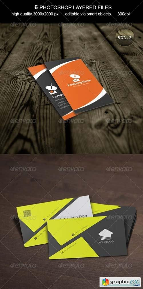 Business Card MockUp -Vol.2