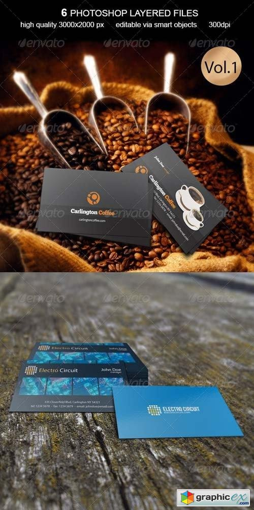 Business Card MockUp -Vol.1