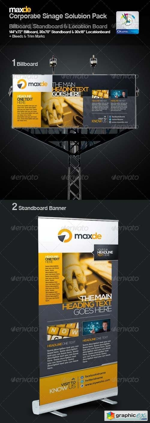 Maxde Clean Sinage Solution Pack