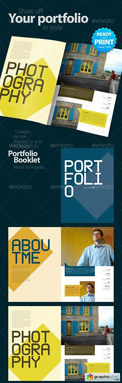 Portfolio Booklet (12 pages)