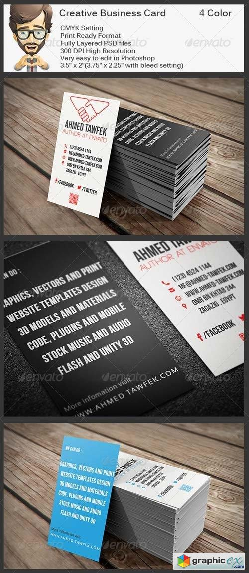 Creative Business Card 5823453