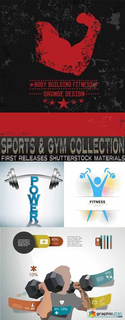 Amazing SS - Sports & Gym Collection, 25xEPS