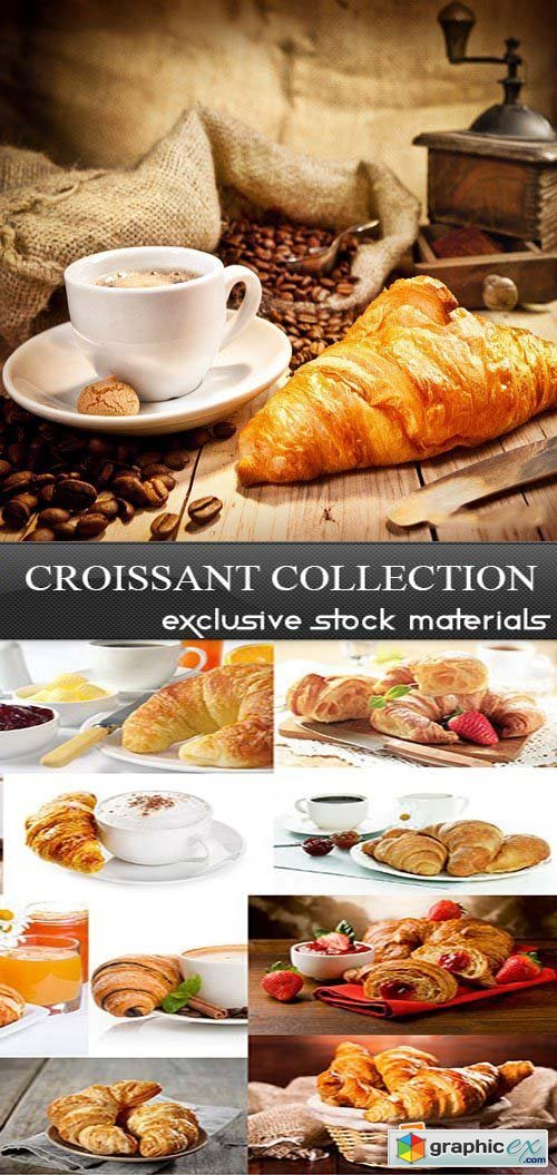 Croissant Collection, 25xUHQ JPEG