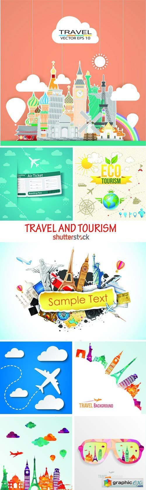 Amazing SS - Travel and tourism 2, 25xEPS