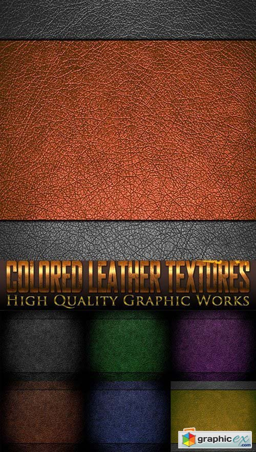 Colored Leather Textures 25xJPG