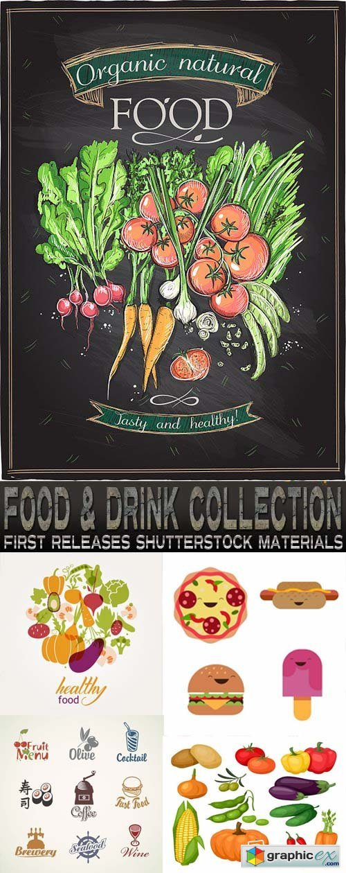 Amazing Ss - Food & Drink Collection 25xEPS