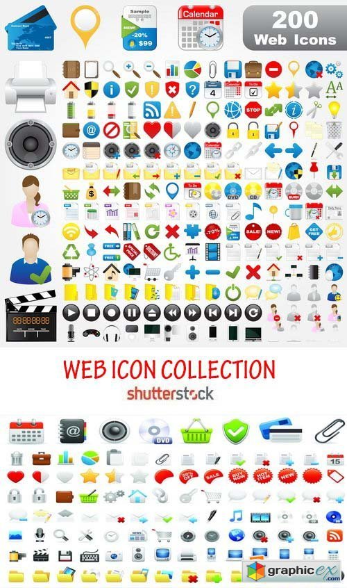 Amazing SS - Web icons collection, 25xEPS