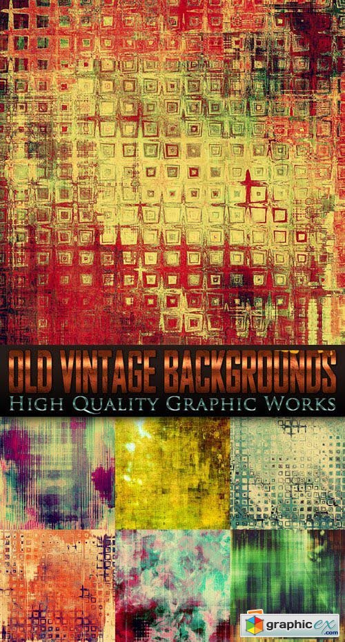 Old Vintage Backgrounds 25 JPG