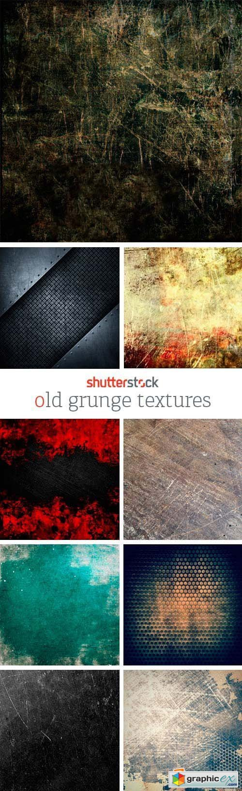 Amazing SS - Old Grunge Textures, 25xJPGs