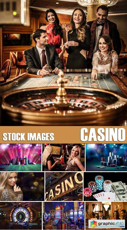 Stock Photos - Casino, 25xJPG