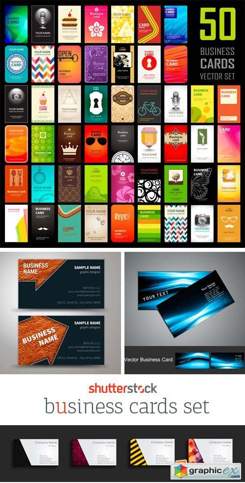Amazing SS - Business Cards Set, 24xEPS