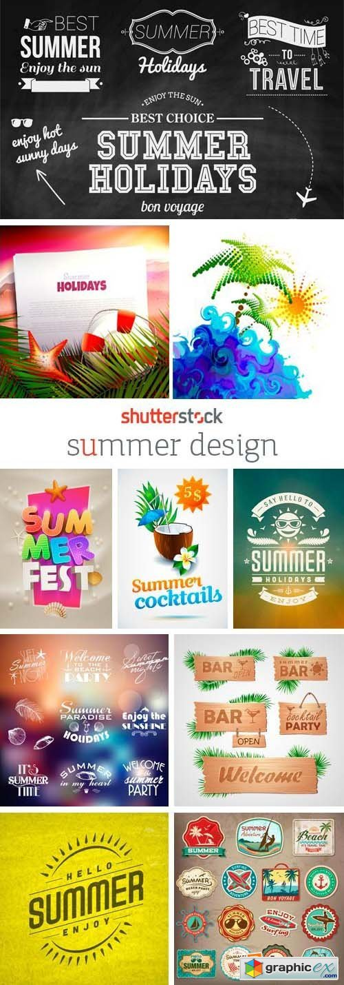 Amazing SS - Summer Design, 24xEPS