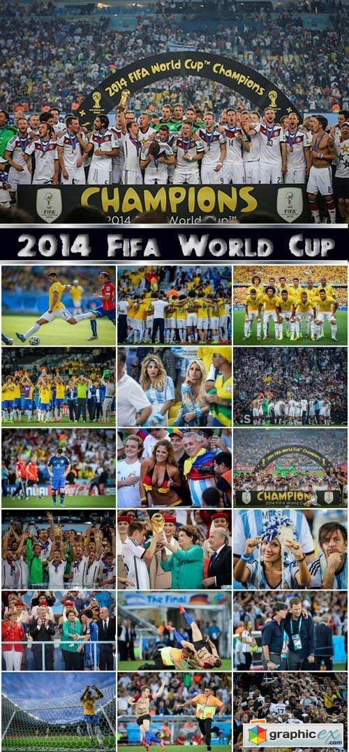 World Cup 2014 Champions 25xJPG