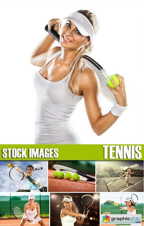 Stock Photos - Tennis, 25xJPG